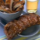 Southern Grilled Barbecued Ribs
