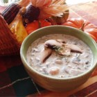 Click for larger view: Creamy Mushroom Soup