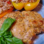 Click for larger view: Crispy Herb Baked Chicken