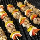 Chicken and Bacon Shish Kabobs